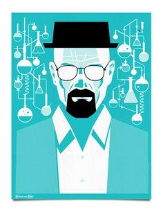 Breaking Bad Poster by Mattson Creative via grain edit