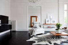 timely timeless5 #interior #white #room #living #black #and #decoration