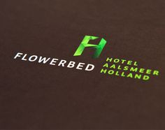 Flowerbed Hotel Aalsmeer Holland #hotel #logo #corporate #identity