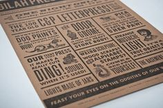 FFFFOUND! | design work life » Nathalie Cone for Gilah Press #type