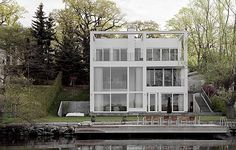 Anders Holmberg Arkitekter » Archive » Villa Oscar #architecture #white