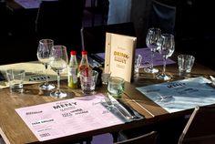 Calexico's on Behance #pink #menu #restaurant #snask #identity #gold #foil