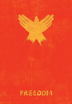 Freedom #design #illustration #poster