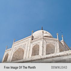 free-images-of-the-month #taj #mahal