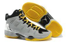 Mens Nike Air Shoes Jordan Melo M10 New Silver Grey