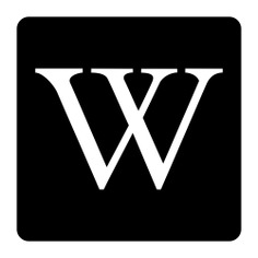 See more icon inspiration related to wikipedia, social normal, network, logotype, logo, social network, letter, symbol and social on Flaticon.