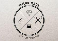 tumblr_m19qupVU2R1ro34sdo2_1280.jpg (800×565) #tailor #logo #retro #vintage
