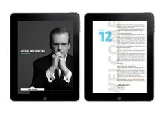 AU Digital Pioneers Issue on Behance #design #layout #app #magazine #digital #iphone app #ipad app #australia unlimited