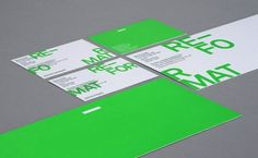 Re-Format - Re-Format Stationery #branding #format #print #re #logo