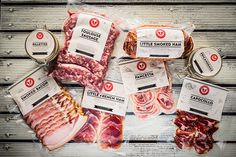 PACKAGING on Behance #meat #packaging