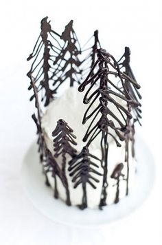 Desserts for Breakfast: the Blackest Forest Gateau and a Giveaway! #cake #food
