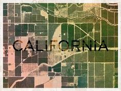 Dribbble - California by Xande Macedo #type #treatment #california