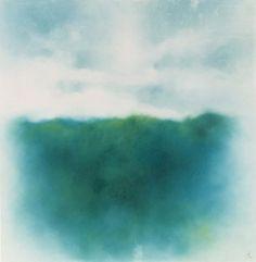 Masako Hanai : Untitled | Artworks | Tokyo Illustrators Society (TIS) #abstract #landscapes #pencil #masako #hanai #pastel