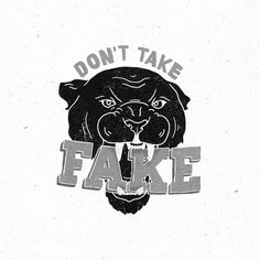 don't take Fake #sndct #fake #don #orka #illustration #abo #take
