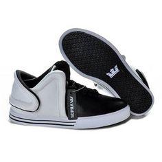 Supra Falcon White Black Men Footwear