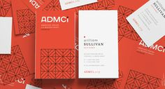 Eight Hour Day » ADMCi Identity #business card