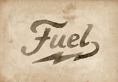 Fuel Motorcycles New logo on Behance #logo #bolt #moto #branding