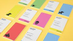 Gula Hunden, Branding on Behance #business card