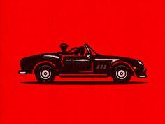 Save Ferris #kidd #illustration #beuller #1986 #ferris #kendrick #car
