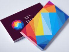 Sunset Mountain Business Card / Logo Design
