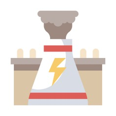 See more icon inspiration related to nuclear, architecture and city, nuclear power, nuclear plant, power plant, chimney, radiation, dangerous, industry, factory, radioactive, buildings, energy and signs on Flaticon.