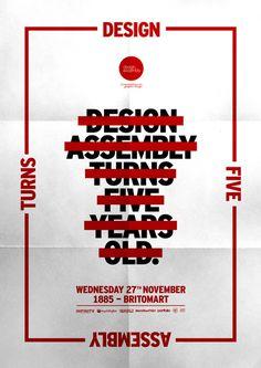 Design Assembly Turns Five designetica.com | Brendon O'Dwyer — Graphic Designer