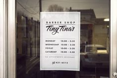 Chris Glass - The Sign in my Barber\'s Window