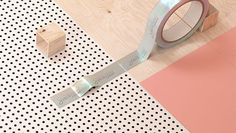 sixandfive-2 #pink #plywood #tape #identity