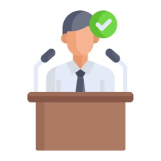 See more icon inspiration related to Politician, businessman, tie, important, microphones, administrator, user, speech, avatar, person, people and social on Flaticon.