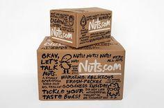 New Work: Nuts.com | New at Pentagram #typography #branding #identity #packaging #hand drawn #pentagram #nuts