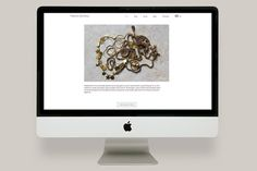 Natasha Dahlberg designs feminine, handmade jewellery and includes champagne, black and green diamonds on 18 carat gold, lustrous pearls com #flat #design #jewellery #website #ui #layout #web