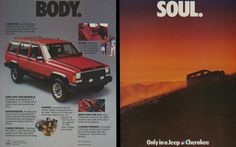 1985 Jeep Cherokee Ad Courtesy Of The Henry Ford #jeep #cherokee