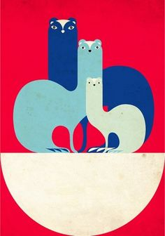 Baubauhaus. #illustration #favre #animal #malika