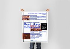 Most Likely to Succeed :: Poster design for documentary film about education / Albuqeurque,NM
