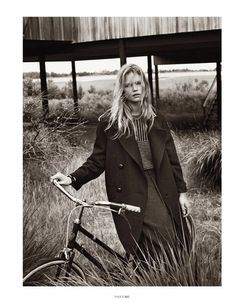 Anna Ewers By Josh Olins For Vogue Paris #fashion #photography