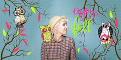 #girl#colorful#owl