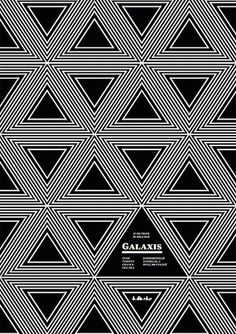 FFFFOUND! | Merdanchik.com #white #black #geometric #poster #and #triangles