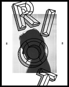 Riot #white #design #black #photography #riot #and #type #babe #typography