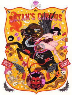 Satan's Circus on Behance