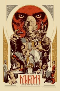 Mondo: The Blog #mummy #illustration #poster