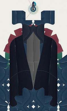 fabric cuts on the Behance Network #illustration #design