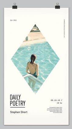 Daily Poetry on the Behance Network