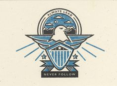 3Always_Lead_Promo #logo #eagle #crest