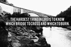 Bridges | Flickr - Photo Sharing! #text #white #photo #black #photography #and #type #bridge #typography