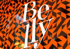 belly visual dialogue // design / advertising / digital // boston, mass #design #identity #pattern #typography