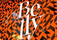 belly visual dialogue // design / advertising / digital // boston, mass #design #identity #pattern #typography