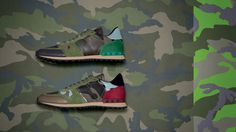valentino teams with disappearing artist liu bolin for camouflage collection #valentino #liu #bolin