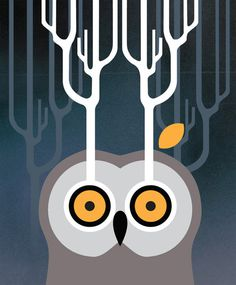 owl #illustration #owl #vectors