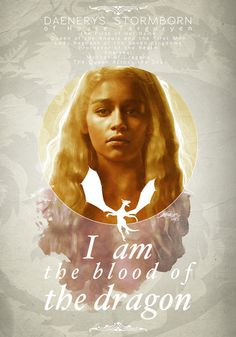 Daenerys Stormborn of House Targaryen #illustration #design #graphic #art