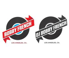 DJ Bobby French : The online portfolio of Josh Sullivan #logo